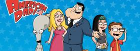 american dad family facebook cover