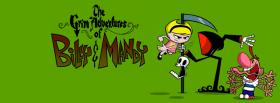grim adventures of billy and mandy facebook cover