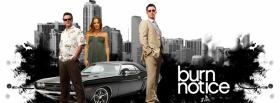 free tv shows burn notice next to car facebook cover