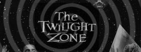 free the twilight zone black and white facebook cover