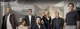 tv shows cast of scrubs facebook cover