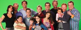 free tv shows modern family cast facebook cover