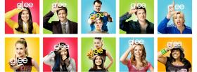 free tv shows actors in glee facebook cover