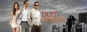 tv shows burn notice in the city facebook cover