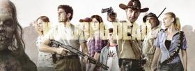 free the walking dead cast facebook cover