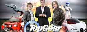 tv series top gear with cars facebook cover