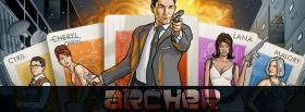 free tv shows archer facebook cover
