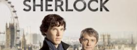 tv shows sherlock with men facebook cover