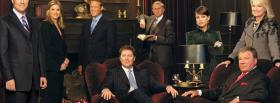 tv shows boston legal actors sitting facebook cover
