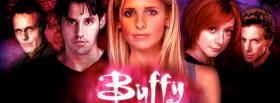 buffy with cast of tv shows facebook cover