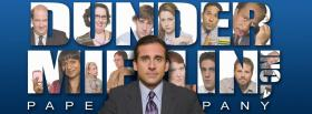 free micheal scott in the office facebook cover