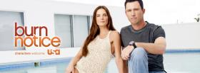 tv shows burn notice actors sitting facebook cover