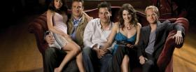 how i met your mother cast sitting facebook cover