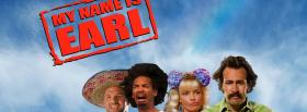 my name is earl tv shows facebook cover