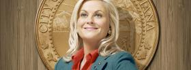 amy poehler in parks and recreation facebook cover