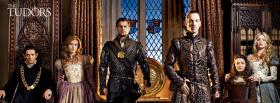cast of the tudors facebook cover