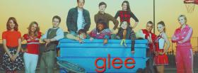 the whole cast of glee facebook cover