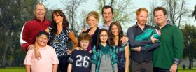 free tv series modern family facebook cover