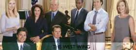 tv shows the west wing crew facebook cover