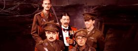 free blackadder goes forth tv series facebook cover