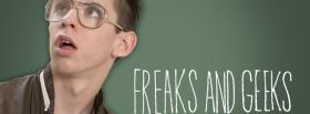 nerd in freaks and geeks tv shows facebook cover
