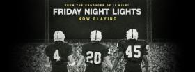 free tv shows friday night lights football players facebook cover