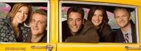 free how i met your mother cast in taxi facebook cover