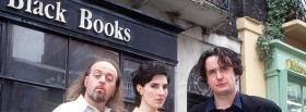 free tv shows black books facebook cover