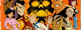 free the venture bros and skull facebook cover