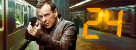 free tv shows 24 jack bauer shooting facebook cover