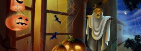 free special halloween decorations facebook cover