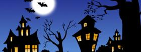 spooky haunted houses facebook cover