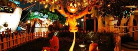 nice halloween decorations facebook cover