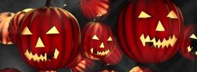 different carved pumpkins facebook cover