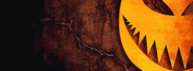 free shady pumpkin for halloween facebook cover