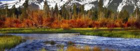free mountains and lake nature facebook cover