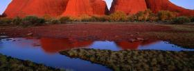free kata tjuta sunset nature facebook cover