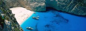 free navagio bay nature facebook cover