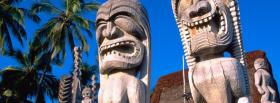 free hawaii statues nature facebook cover