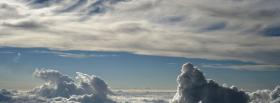 free day clouds nature facebook cover