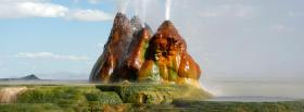 free fly geyser nature facebook cover