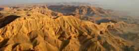 free deserted mountains nature facebook cover