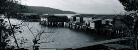free houses on water nature facebook cover