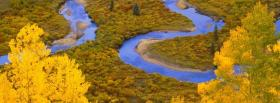 free autumn river nature facebook cover