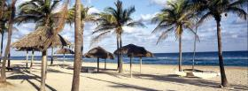 free caribbean sea nature facebook cover