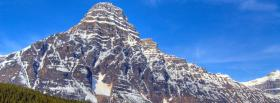 free colossal mountain nature facebook cover