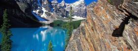 free moraine lake canada nature facebook cover