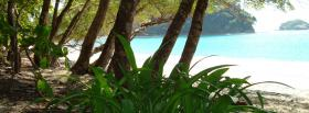 free cristal ocean nature facebook cover