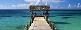 free bahamas beach facebook cover