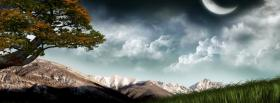 free fantasy nature facebook cover